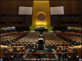 The United Nations in New York City.