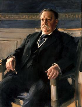 Official Presidential portrait of William Howard Taft by Anders Zorn via WikiMedia