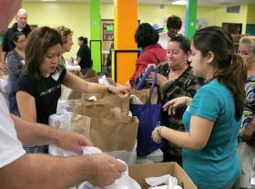 Federal stimulus funds that supported SNAP benefits ran out on November 1, and area food pantries have seen an increase in demand.