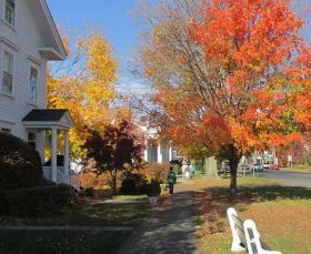 Main Street in Newtown.