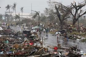 """An estimated 10,000 people in the Philippines were killed by Super Typhoon Haiyan. Americares' Garrett Ingoglia says his organization will be providing relief to survivors for """"weeks, possibly months"""""""
