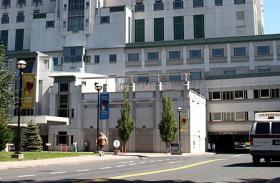 St. Francis Hospital in Hartford.