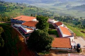 Butaro Hospital in Rwanda was designed by Michael Murphy, former Harvard architecture student, and now CEO of MASS Design Group