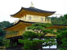 Golden Palace Kinkaku-ji, Zen Buddhist Temple, Kyoto, Japan
