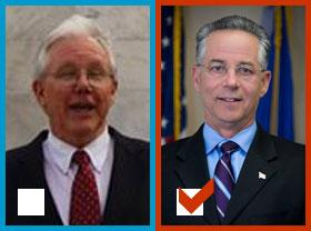 Joseph Maturo, Jr. defeated Jack Stacey in East Haven.