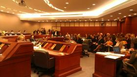 Legislators heard testimony from four UConn women on Wednesday about sexual violence on college campuses.
