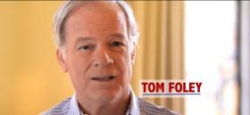 Screenshot from Tom Foley's ad in New York City.
