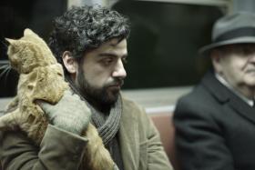 """Oscar Isaac plays Llewyn Davis in the Coen Brother's new film, """"Inside Llewyn Davis."""""""