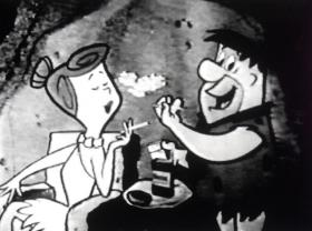 """""""The Flintstones"""" show was once sponsored by Winston cigarettes."""