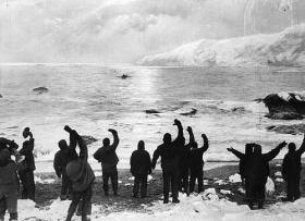 Ernest Shackleton leaves Elephant Island on the James Caird with five other members of the expedition, setting out to reach South Georgia Island 800 miles away.