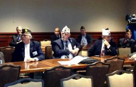 Members of the American Legion Post, West Hartford.
