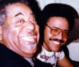 Dizzy Gillespie and Ignacio Berroa flying From Seattle to Vancouver in 1982.