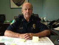 East Haven Police Chief Brent Larrabee.