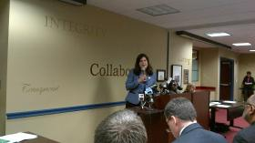 """State Senator Dante Bartolomeo said the state should ideally have a """"braided"""" system of services for families."""