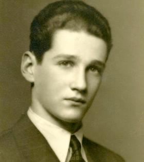 Ivan Backer as a young man.