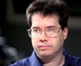 Keith Phaneuf, budget reporter for <em>The Connecticut Mirror</em>.