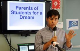 Lucas Codognolla is the lead organizer of Connecticut Students for a Dream.