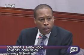 Hamden Mayor Scott Jackson chairs the Sandy Hook Advisory Commission.