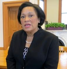 Toni Harp is now the mayor of New Haven, after serving as a state senator for 21 years.