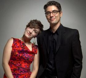 Sara Gazarek and Josh Nelson.
