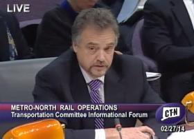 Metro-North President Joseph Giulietti.
