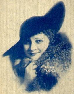 Sophie Tucker in 1917.