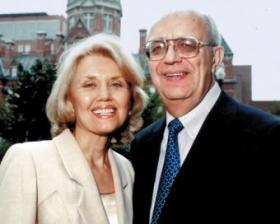 Theodore and Vada Stanley of New Canaan. Mrs Stanley passed away in July 2013
