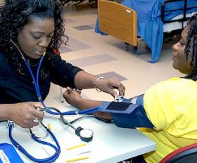 Blood pressure screenings are part of a long-term solution to hypertension among black women, according to experts.