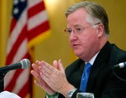 House Speaker Brendan Sharkey wants to improve the review process for hospital mergers.