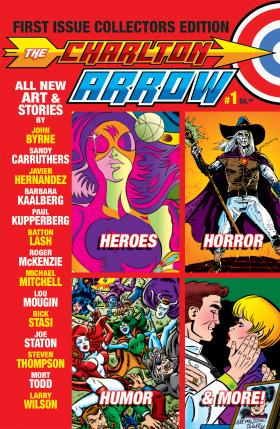 A group of fans and former artists gathered online to produce new stories for the 44-page Charlton Arrow.