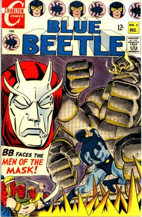 "The Blue Beetle was one of the superheroes, or ""action heroes"" that Charlton Comics featured. The artist was Steve Ditko, who later became the co-creator of Spider-Man. DC Comics eventually bought Blue Beetle and gave him a new story."