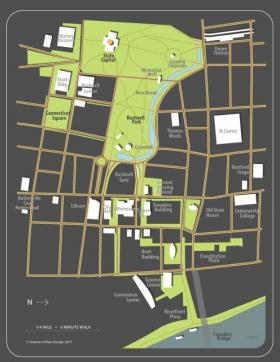 Downtown Hartford, in the iQuilt plan.