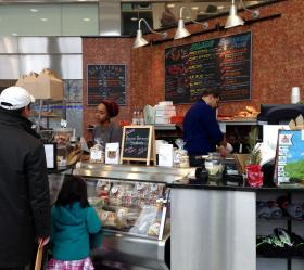 The Hartford Public Library has had extensive renovations and includes a popular cafe, The Kitchen