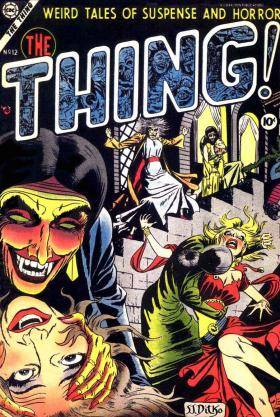 Apart from superhero stories, Charlton also experimented with other genres like horror, romance and war. This cover also came from Spider-Man artist Steve Ditko.