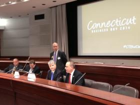 Legislative leaders address business owners at CBIA's Business Day