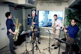 The Asylum Quartet performing on Where We Live.