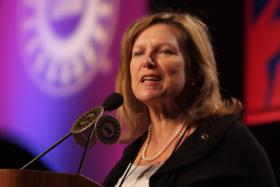Julie Kushner, director of the UAW Region 9A.