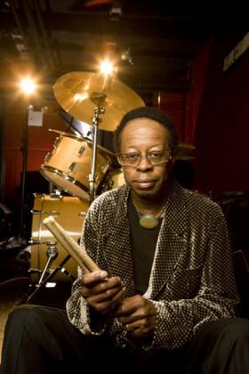 Drummer Louis Hayes.