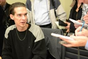 Former addict, Eric Burdett, explains that prescription drugs are the gateway to heroin.