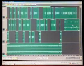 The Multitrack view for the introduction to our show about the future of the internet.
