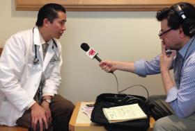 Dr. Ulysses Wu spoke with WNPR's Ray Hardman.