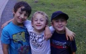 Missing brothers Ryan, Dylan and Brandon Lewis.