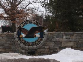 Pratt and Whitney is headquartered in East Hartford.