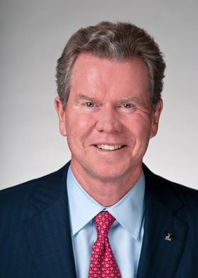 Retiring Hartford CEO Liam McGee.