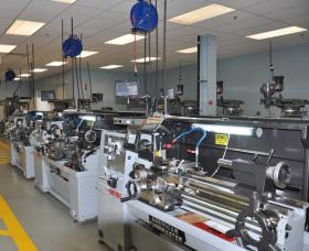 Housatonic Community College in Bridgeport recently established its own manufacturing technology center.