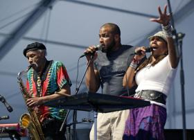 Charmaine and Charles Neville