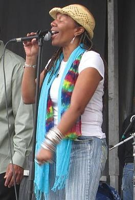 Charmaine Neville performs at the Freret Street Festival in 2014.