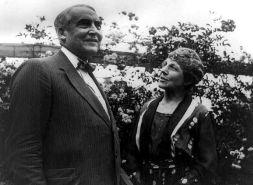 Warren Harding, 29th President of the U.S., with his wife, Florence Harding.