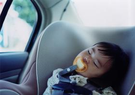 State officials are bringing attention to the problem of children left alone in hot cars.