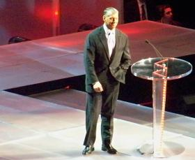 WWE Ceo Vince McMahon in 2009.